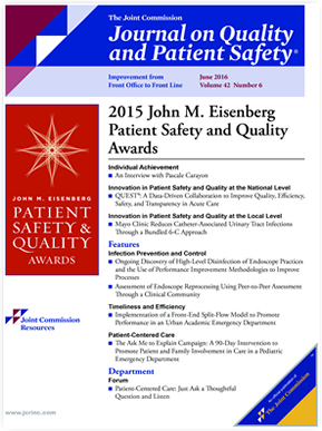 quality management and patient safety essay