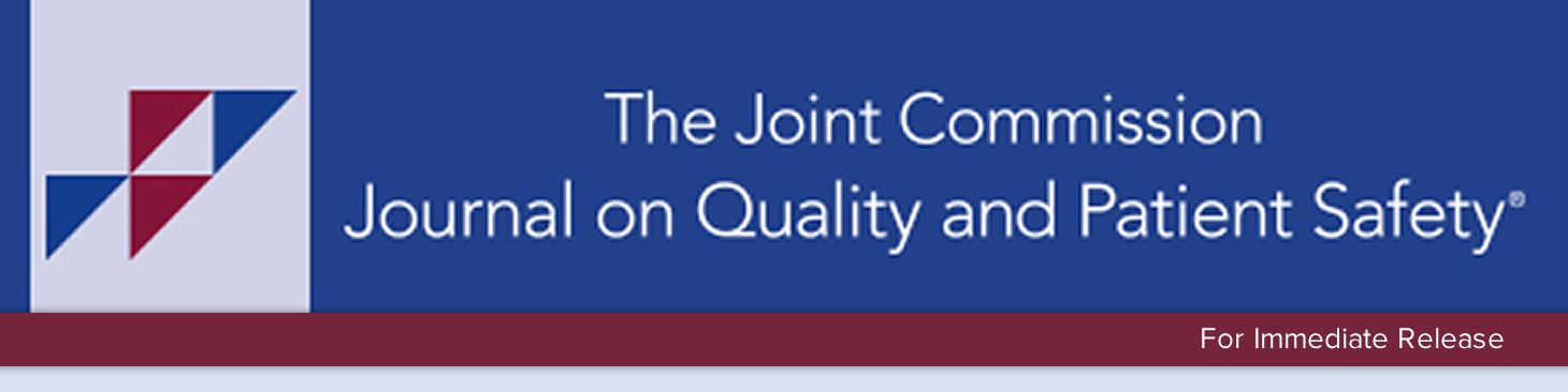 The Joint Commission Journal on Quality and Patient Safety